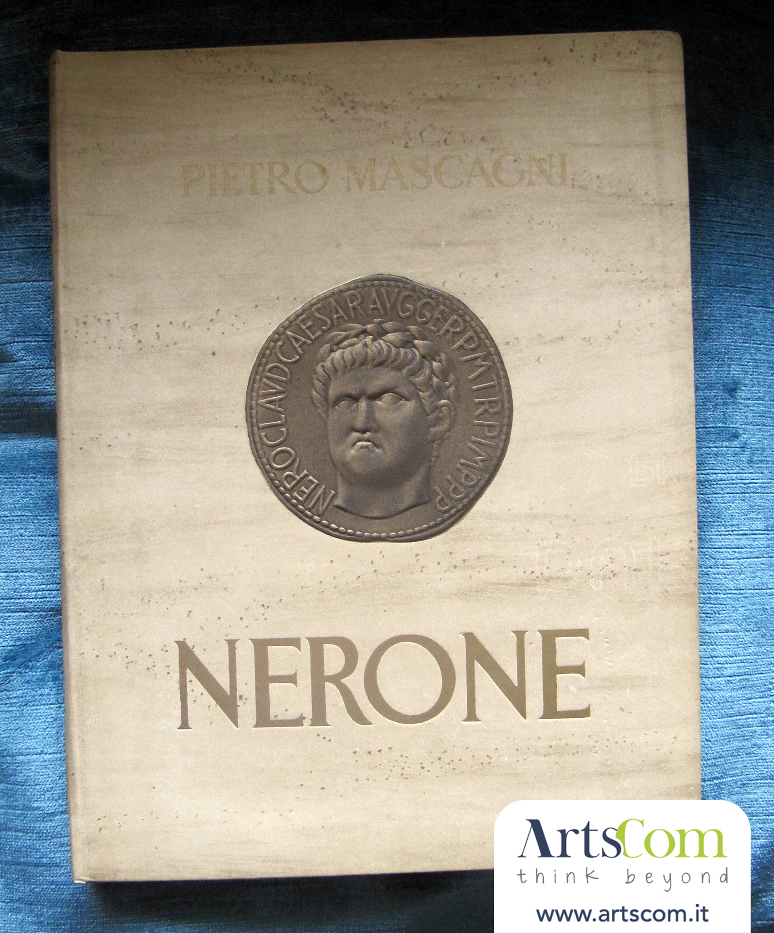 Lo spartito del Nerone copyright © Beatrice Harrach